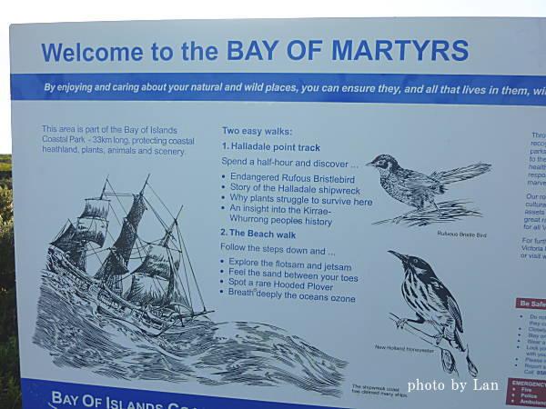 グレートオーシャンロードBay of Martyrs(殉教者の湾)